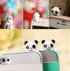 Anti-dust plug panda