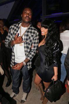 Nicki Minaj and Meek Mill after the Grammy's