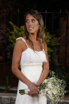Novia Real. Vestido Josefina Obarrio para Novias al Garage
