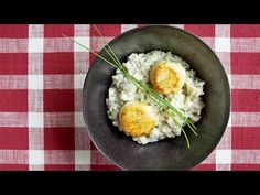 Scallop Risotto by chef Luis Plaza