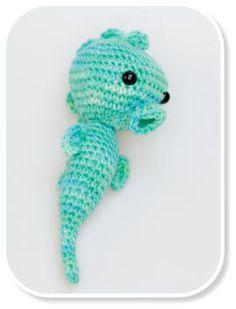 www.cudaczki.com #crochet #seahorse