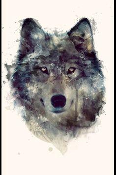 Amazing Wolf illustration
