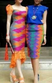 Fashion african style chic 53 ideas for 2019 African Print Dresses, African Print Fashion, African Wear, African Dress, Fashion Prints, Fashion Design, African Style, Batik Kebaya, Batik Dress