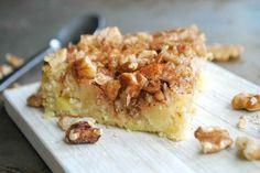 Äppelkaka med nötter - Baka sockerfritt