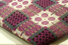 Purple Welsh Blanket - got to have a Welsh blankie
