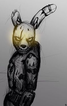 Springtrap (not exactly creepypasta.... But I do what I want so Imma just put this post here)