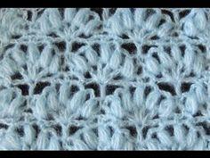 Crochet:  Abanico Puff # 2