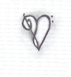 Heart Music Tattoo idea