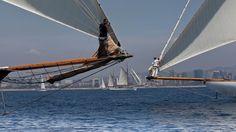 Curs avançat de fotografia de mar MMB. Regata de vaixells clàssics Puig. Barcelona 2013. Foto: Aurea Libori Sailing Ships, Boat, Photography Courses, Boats, Dinghy, Sailboat, Tall Ships, Ship