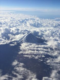 Mt Fuji in October from ANA