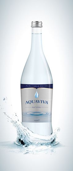 Aquaviva Pure Table Water on Packaging of the World - Creative Package Design Gallery