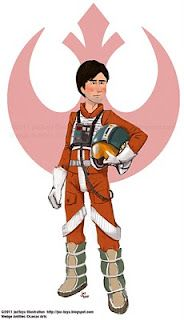 Wedge Antilles by Jez Tuya