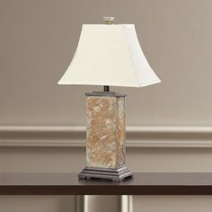 "Gallipolis 29"" H Table Lamp with Bell Shade"