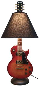 "Found in celebrity homes including Ted Nugent, Bret Michaels, the Jonas Brothers and more, the famous Guitar Lamp is crafted right in downtown Merriam and enjoys a spotlight every now and then on TV shows including MTV ""Cribs"" and HGTV's ""I Want That."""