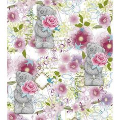 Just For You Me to You Bear Card  £1.89