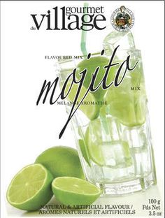 Mojito (6/case) Makes 3 drinks.Gourmet du Village cocktails mixes are delicious, refreshing and perfect thirst quencher #961780 $4.99 www.lambertpaint.com