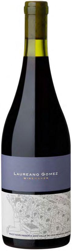 """Reserva"" Pinot Noir 2014 - Laureano Gomez Wines, Tunuyán, Mendoza-------------------------------Terroir: Tupungato-------------Crianza: 7 meses en barricas de roble francés"