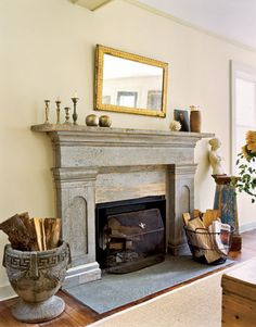 When it comes to home renovations, if you can redo only one area, choose the living room—it takes up the bulk of a home's space and costs less because most changes are cosmetic. #countryliving #LivingRooms