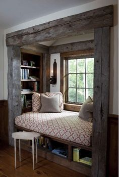 Slate & Sparrow | Interior e-design | Day Dreaming: Window Seats