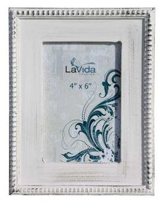 Rustic Looking Frilled Edge Photo Frame - Large