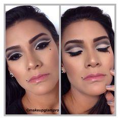 Jugando un poquito, probando algunas técnicas!!!!  Cut crease makeup  #beauty #beflawless #flawlessskin #powerofmakeup #beautyblogger #attitude #smokey #lifestyle #beyourself #passionformakeup #makeup #foundation #softskin #fashiongirl #attitude #universe #dressyourface #makeupfanatic #vanitymakeup #instaglam #wakeupandmakeup #passion #addicted #instamakeup #longlashes #bogota #automakeup #foreverbeauty
