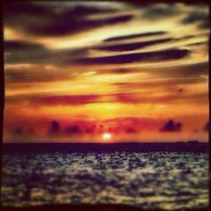 "@ilaria_agostini's photo: ""Maldives sunset"""