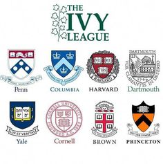 Ivy League Universities' Coats of Arms Wax Seal Stamp Brown Things brown university color Harvard University, University Columbia, Brown University, Cornell University, Princeton University, Dartmouth College, University Essentials, Ivy League Universities, Types Of Education