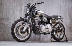 Hinter diesem Scrambler verbirgt sich eine Harley Davidson 883 Sportster | Classic Driver Magazine