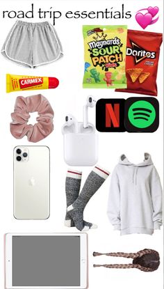 Travel Packing Checklist, Road Trip Packing List, Travel Bag Essentials, Road Trip Essentials, Road Trip Hacks, Road Trips, Jugend Mode Outfits, Teen Trends, Mode Chanel
