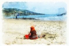 Day at the Beach, voted Editor's Pick of the Week, 04/02/12. Corel Painter Magazine website.