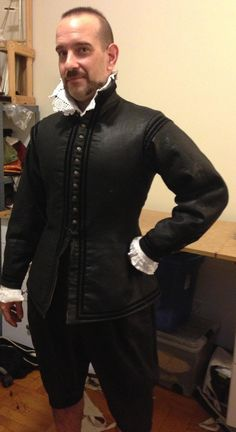 MADE TO MEASURE Man's 17th century suit 3pc