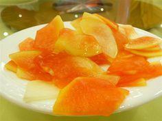 Pickled Papaya (Jeruk Betik) ~ Singapore Food   Recipes