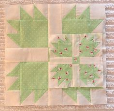 Classic & Vintage featuring Bear Paw Quilt Pattern