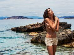 "Melissa Odabash 2015 Collection - ""Alicia"" - Crochet Shorts -  www.odabash.com"