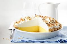 This pie is a taste of heaven for lemon lovers. Our take on the indulgent diner classic—with its fluffy meringue topping and tender, ultra-flaky crust—will be your go-to dessert for years to come.