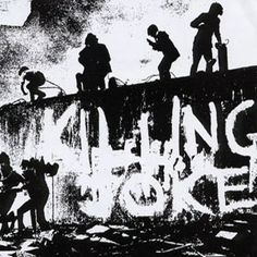 """Killing Joke, another iconic band of the Gothic Movement.You may know this band for the cover Metallica does of the song """"The Wait"""""""