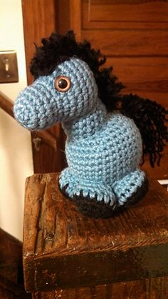 cute gumball pony  ravelry by m. cnthea carrington