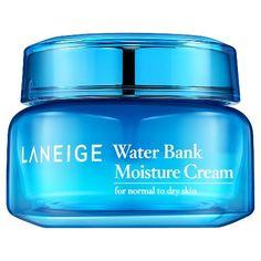 Laneige Water Bank Moisture Cream - 50 ml : Target. Good for oily skin Moisturizer For Oily Skin, Laneige, Body Lotions, Korean Skincare, Face Care, Organic Skin Care, Beauty Routines, Aloe Vera, Facial