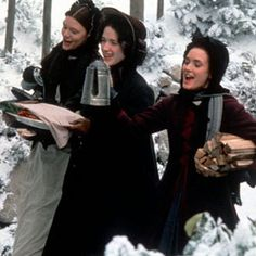 little women movie -can't wait for Christmas.  one of my fave Christmas movies.