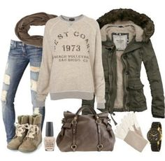 Winter fashion - that bag! Like the concept. Maybe a slightly different, nee combat style boot, and slimmer coat.