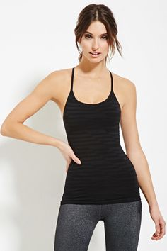 Active Seamless Athletic Cami - Activewear - 2000181799 - Forever 21 EU English