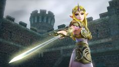 Zelda Hyrule Warriors official screenshot - Release September 26th only for #WiiU - Playable Princess Zelda