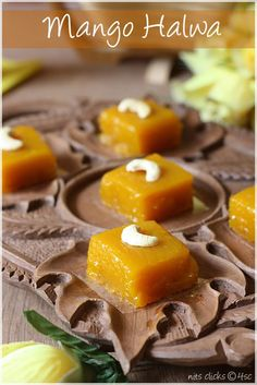 Mango Spread and Mango Halwa recipe.