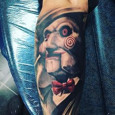 @r.a.c.queen Horror Movie Tattoos, Scary Tattoos, Clown Tattoo, Music Tattoos, Hot Tattoos, Body Art Tattoos, Sleeve Tattoos, Dark Art Tattoo, Gothic Tattoo