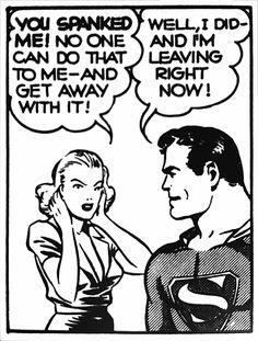 more spanking from DC comics Comic Books Art, Comic Art, Book Art, Superman, Batman, Haha, Jordi Bernet, Spank Me, Comic Panels