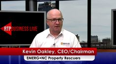 Kevin Oakley, CEO and Chairman EMERG+NC Property Rescuers O: 919 EMERG-NC or 844 EMERG-NC emerg-nc.com kevin.oakley@emerg-nc.com  EMERG+NC Property Rescuers is a specialty property damage contracting business. Property damage restoration is the process of stopping property damage from getting larger & then bringing a property back to its pre-loss condition after sustaining any level of Water, Flood, Mold, Fire, Wind or Bio-hazard damage.  No one ever thinks that a property damage eve...