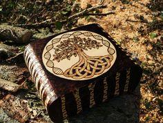 Tree of Life wooden box.