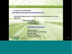 Growers Supply High Tunnel Webinar...good info if you are thinking about getting a high tunnel