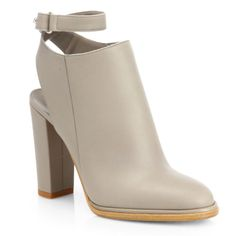 Vince Joanna Leather Ankle Boots
