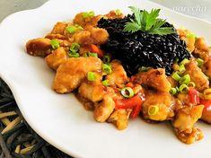 Sladko-kyslé hydinové prsia - recept | Varecha.sk Meat, Chicken, Food, Essen, Meals, Yemek, Eten, Cubs